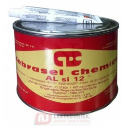 Debrasel Chemical ALsi 12 Polyester Kit incl. Verharder