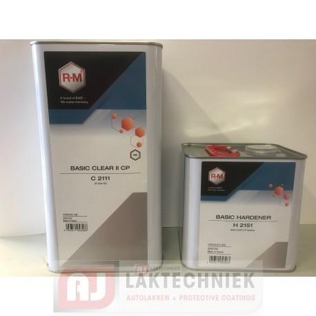 R-M Basic CP II VOC Verharder 2,5Liter
