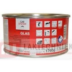 Car System 127.974 Glas Polyester-Glasvezelplamuur 1760gr incl. BPO-Pasta