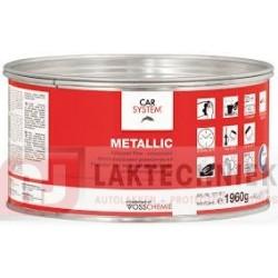 Car System Metalic 127.911 Aluminium Polyester Vulplamuur 1960gr Incl. BPO-Pasta