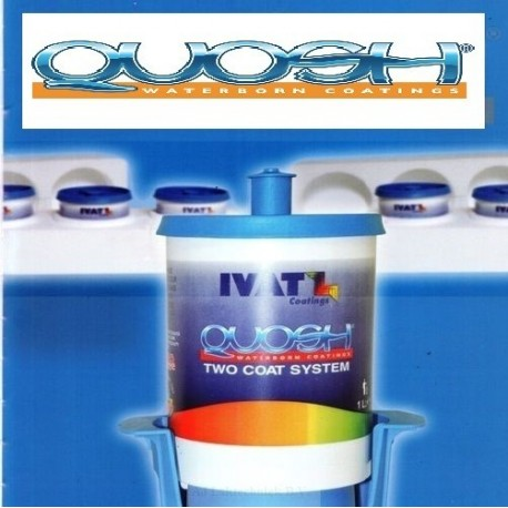 IVAT Quosh Base Coat Bright Red