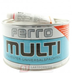 Ferro 124.519 Multi Polyester Universeel Plamuur 2250Gr + 50gr BPO-Pasta